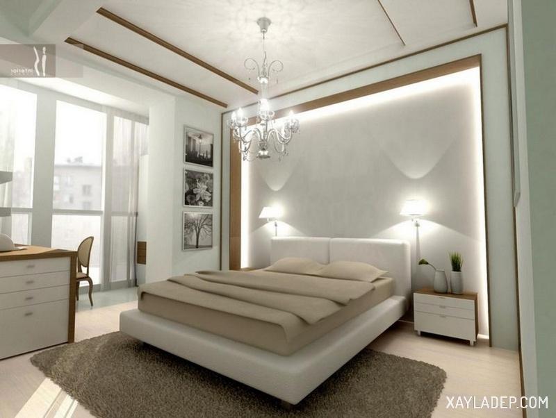 15 mẫu trần thạch cao phòng ngủ vợ chồng giúp cảm xúc thăng hoa. Ảnh 8