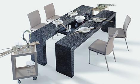 , Các mẫu bàn ăn thông minh cho nhà nhỏ tiết kiệm diện tích sử dụng, Nhà đẹp