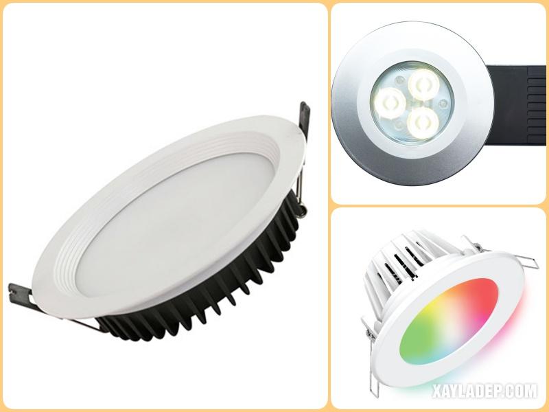 Có rất nhiều thương hiệu đèn led âm trần mà bạn có thể chọn