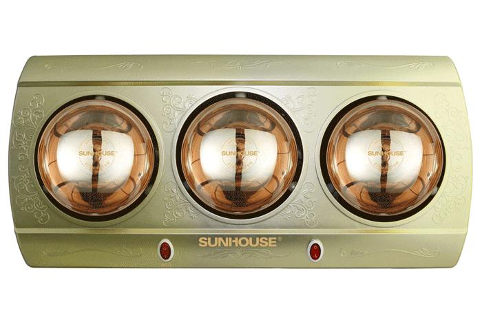 2. Đèn sưởi nhà tắm Sunhouse