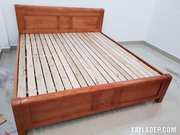Mẫu giường gỗ đẹp 2020. Ảnh 6