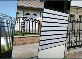 40 Mẫu hàng rào sắt đẹp giúp bảo vệ tư gia của bạn