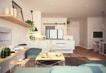 Ý tưởng nội thất căn hộ chung cư 100m2 cho vợ chồng trẻ.