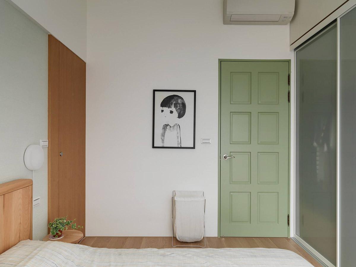 Mẫu thiết kế nội thất chung cư 100m2 2 phòng ngủ phong cách Nhật Bản. Phòng ngủ 5