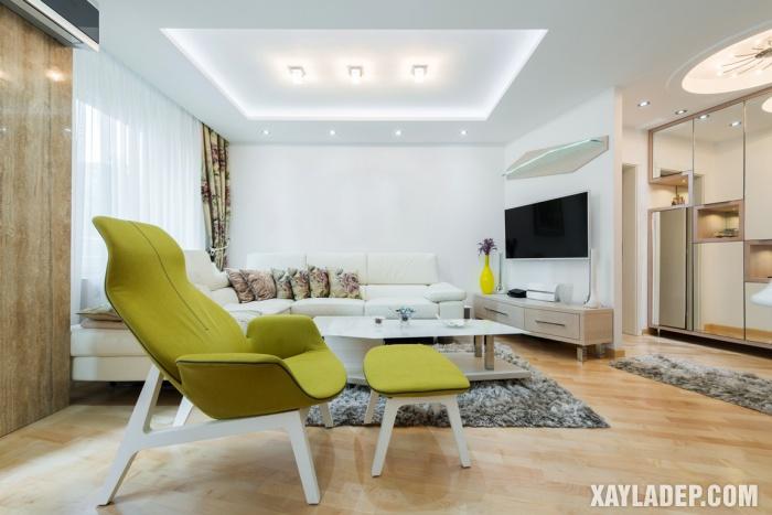 Hình 5: Giải pháp thiết kế cho các căn hộ chung cư hiện đại