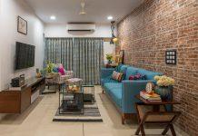 căn hộ, Căn hộ 50 m2 ấn tượng với các họa tiết trên tường, Nhà đẹp, Nhà đẹp