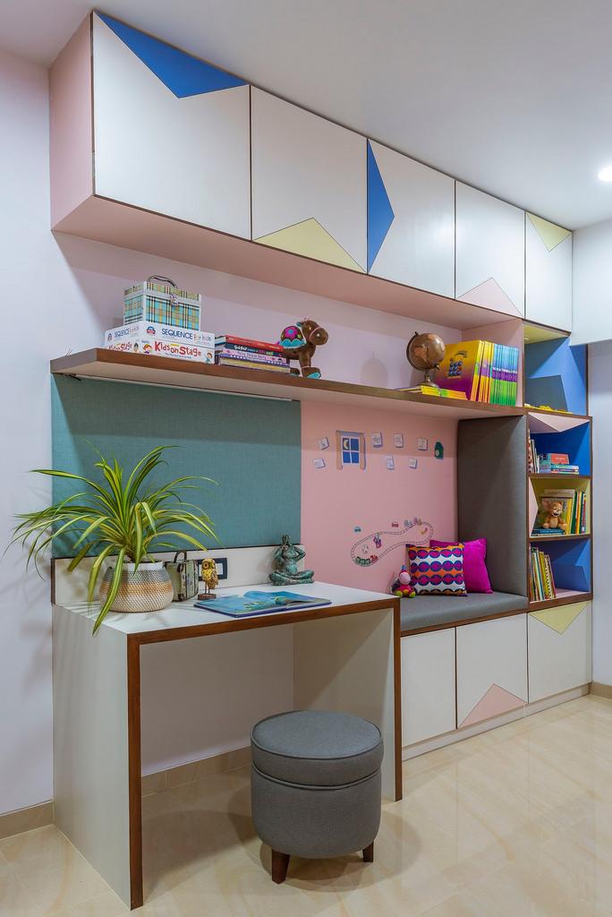 , Bên trong căn hộ 70m2 2 phòng ngủ cho gia đình 3 người, Nhà đẹp