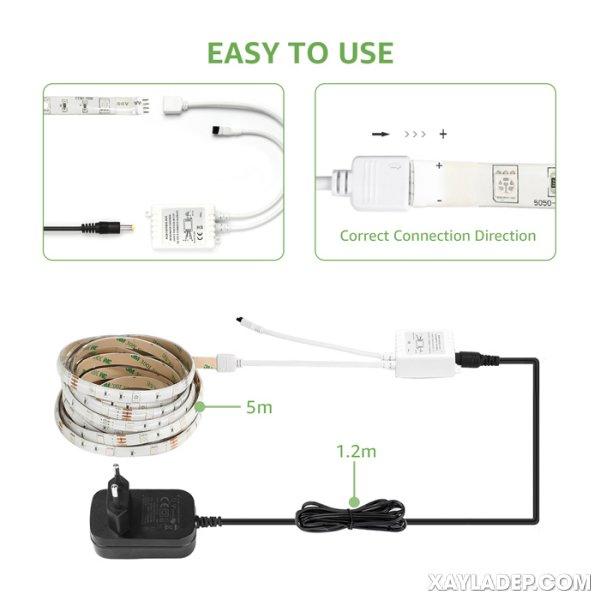 Cách mua và lắp đặt đèn led dây hắt trần thạch cao, trần nhựa và trần gỗ lap dat den led day hat tran 2