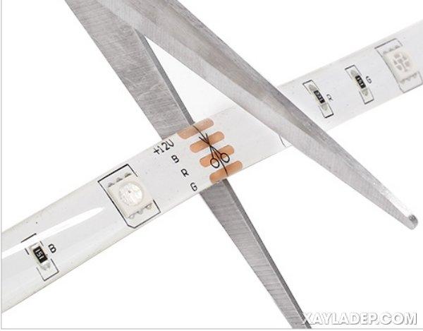 Cách mua và lắp đặt đèn led dây hắt trần thạch cao, trần nhựa và trần gỗ lap dat den led day hat tran 3
