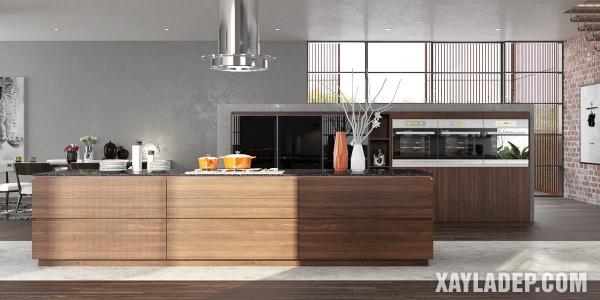 Mẫu tủ bếp đẹp 2020 - Hình 8