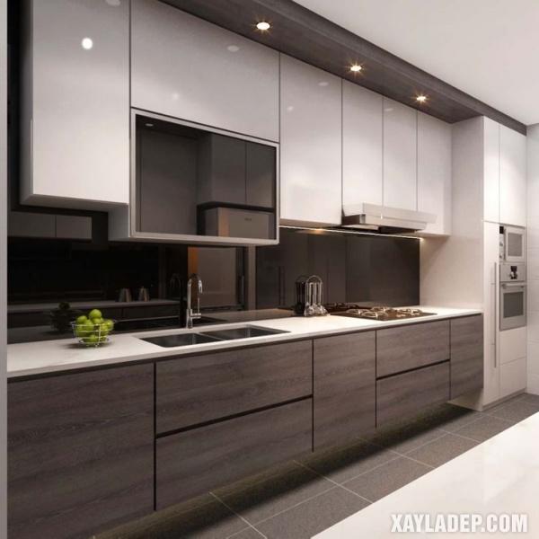 Phong cách thiết kế hiện đại thích hợp cho các căn hộ chung cư