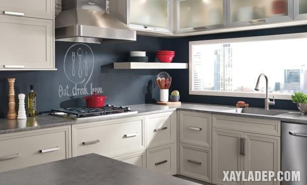 Mẫu tủ bếp đẹp 2020 - Hình 1