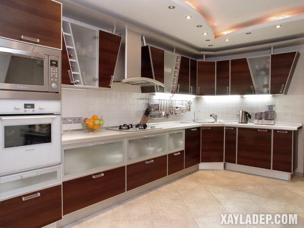 Mẫu tủ bếp đẹp 2020 - Hình 4