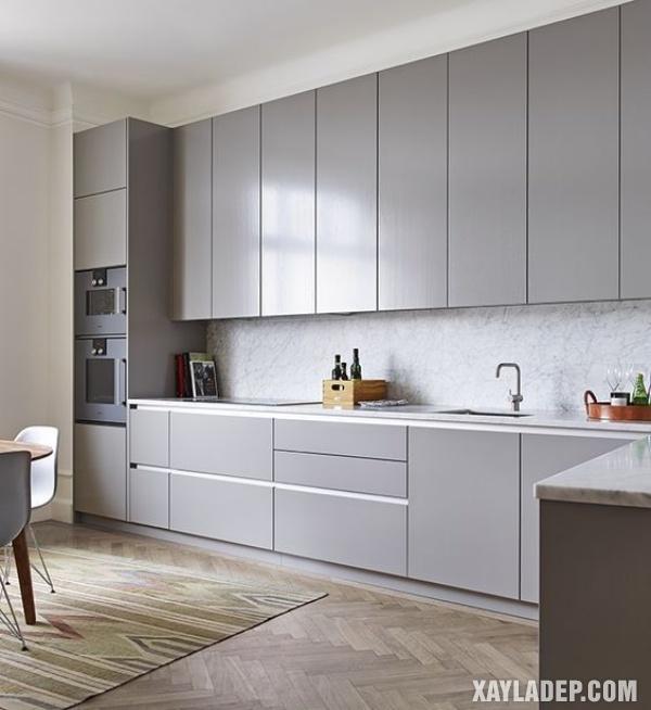 Mẫu tủ bếp đẹp 2020 - Hình 5