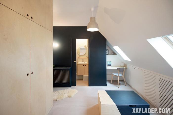, 7 Ý tưởng thiết kế phòng trọ 12, 15, 20m2 gọn gàng tối đa diện tích, Nhà đẹp