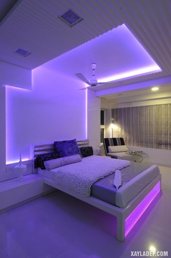 , 32 Mẫu trần thạch cao đẹp phòng khách, phòng ngủ, phòng bếp 2019, Nhà đẹp
