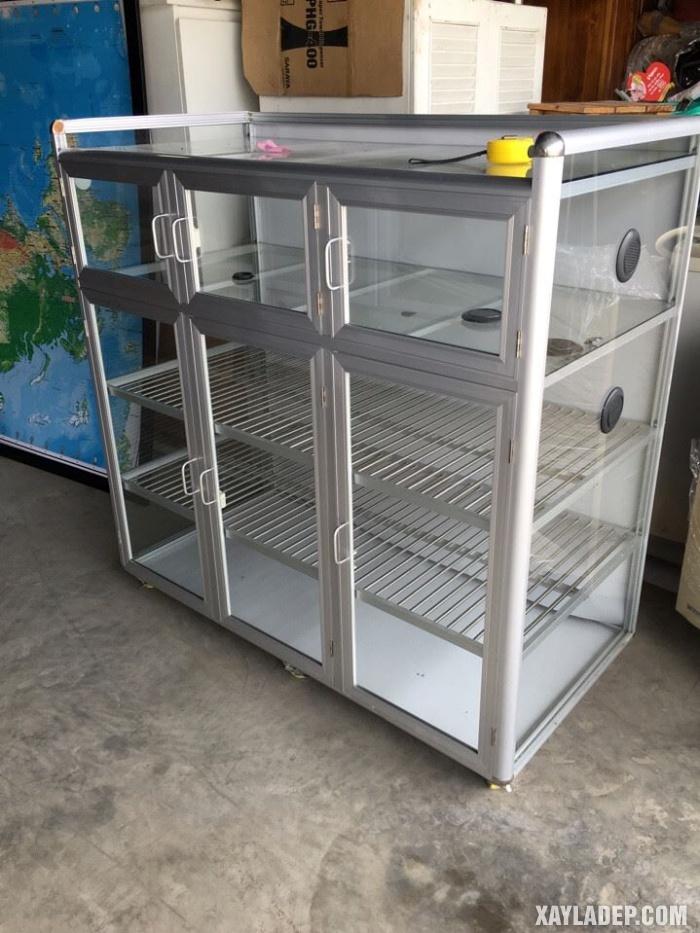 Hình 19: Tủ bếp đứng bằng nhôm