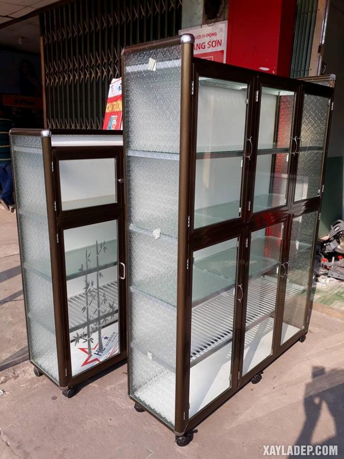 Hình 6: tủ bếp nhôm kính giá rẻ tphcm