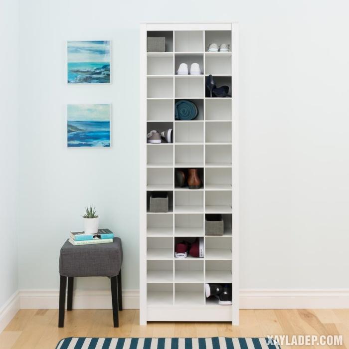 Hình 12: Chiếc tủ giầy 12 tầng thoải mái sắp xếp giày dép