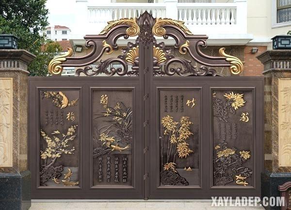 Mẫu cổng nhà đẹp 2020 - Hình 7