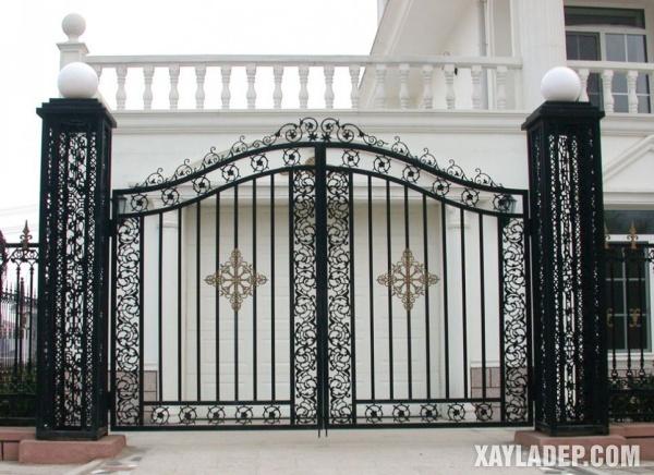 Mẫu cổng nhà đẹp 2020 - Hình 8