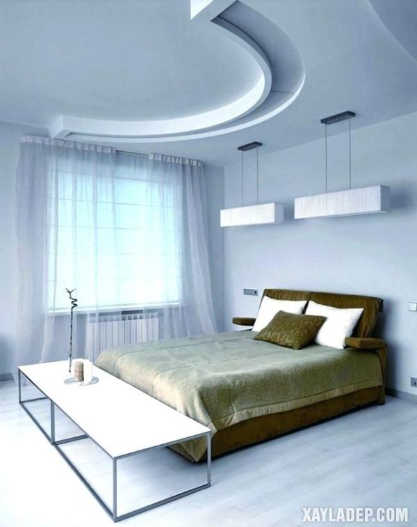 Mẫu trần thạch cao phòng ngủ đẹp 2020 -Mẫu 10