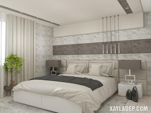 Mẫu trần thạch cao phòng ngủ đẹp 2020 -Mẫu 13