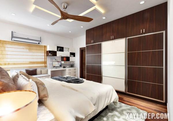 Mẫu trần thạch cao phòng ngủ đẹp 2020 -Mẫu 14