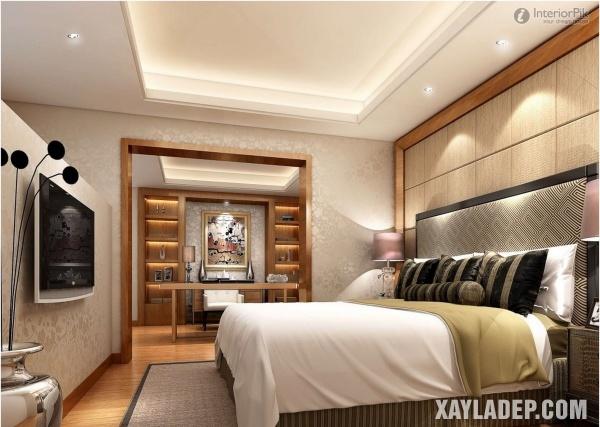 Mẫu trần thạch cao phòng ngủ đẹp 2020 -Mẫu 15
