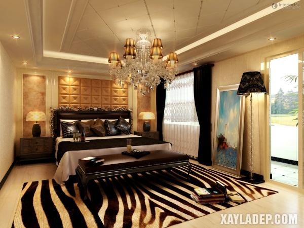 Mẫu trần thạch cao phòng ngủ đẹp 2020 -Mẫu 16
