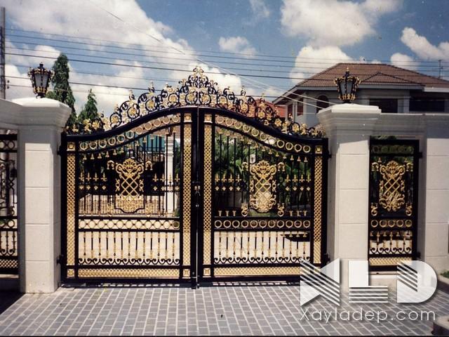 Trụ cổng nhà đẹp