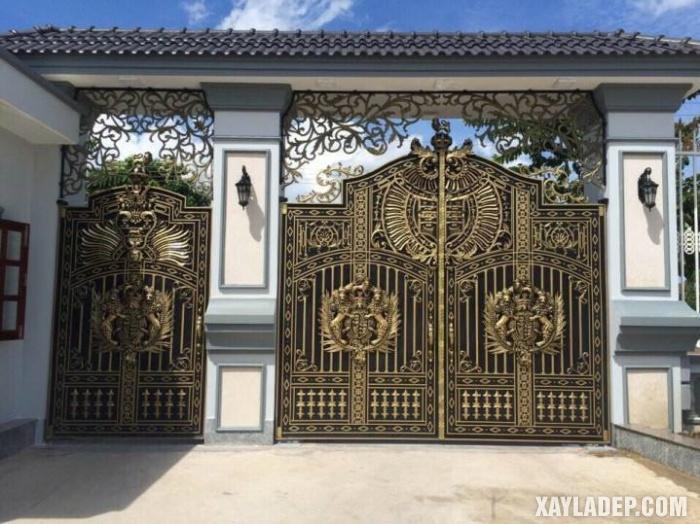 Mẫu trụ cổng đẹp 2019 - Ảnh 07