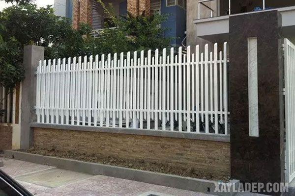 , 40 Mẫu hàng rào sắt đẹp nông thôn mới nhất 2020, Nhà đẹp