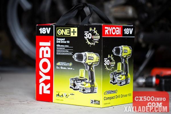 Đánh giá máy khoan pin Ryobi RCD 1802 18v