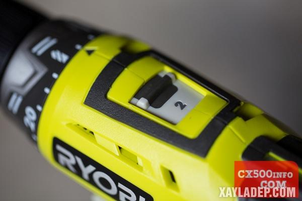 , Đánh giá máy khoan pin Ryobi RCD 1802 18v, Nhà đẹp