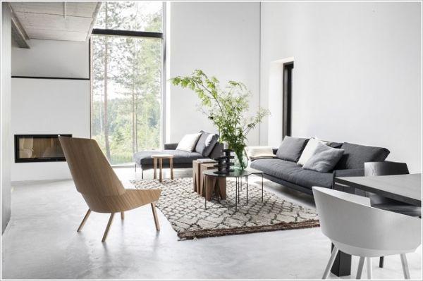 Không cần quá nhiều nội thất vẫn bật lên được vẻ hiện đại, đẳng cấp