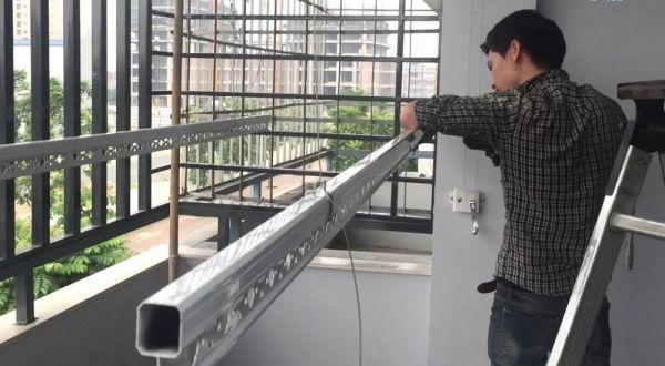 , Giàn phơi thông minh – nội thất không thể thiếu cho mỗi căn hộ chung cư, Nhà đẹp