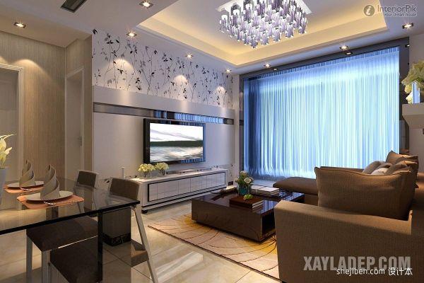 mẫu trần thạch cao phòng khách 25m2