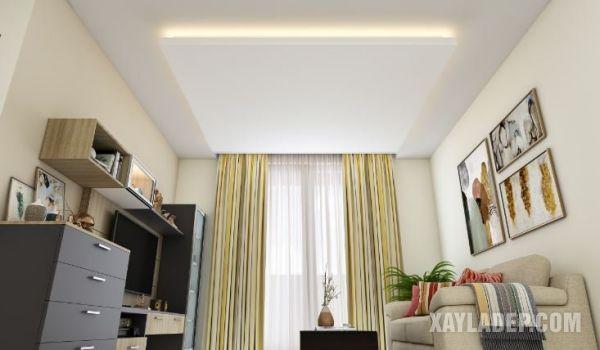 18   mẫu trần thạch cao phòng khách 30m2