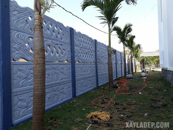 , 30 Mẫu hàng rào bê tông đẹp và an toàn cho các căn hộ, Nhà đẹp