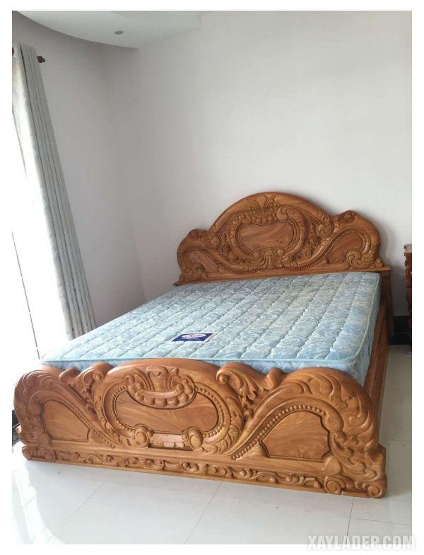 50 Mẫu giường gỗ đẹp nhất 2021 mau giuong go dep 2021 2