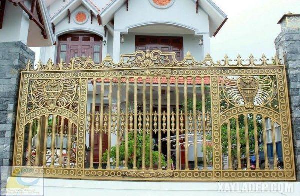 Mẫu hàng rào đẹp nhà cấp 4