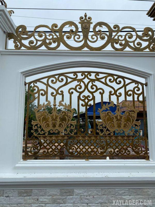 hàng rào đẹp, 50 Mẫu hàng rào nông thôn đẹp cho nhà cấp 4 và biệt thự sân vườn, Nhà đẹp