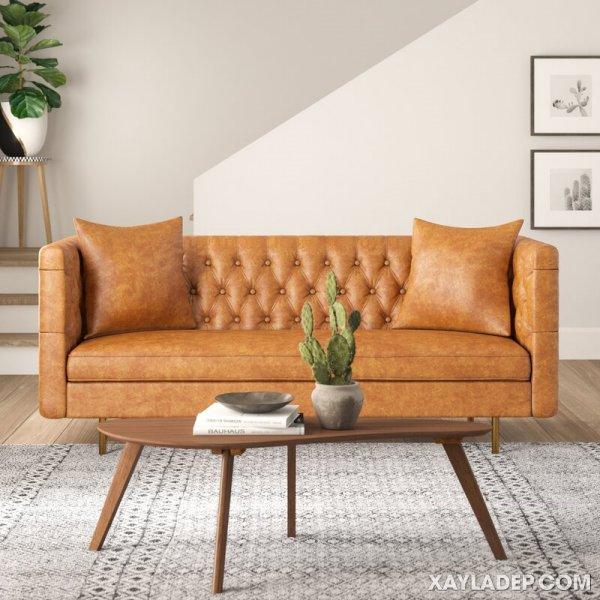 Ghế sofa có những loại nào, cách phân biệt ra sao? Chesterfield