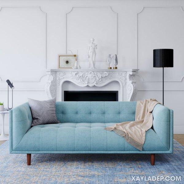 Ghế sofa có những loại nào, cách phân biệt ra sao? Mid Century Modern Sofa
