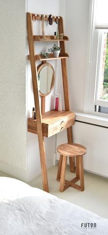bàn trang điểm cao bằng gỗ
