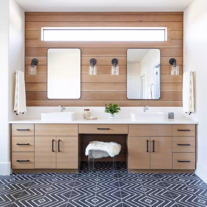 Làm thế nào để biến phòng tắm trông sang trọng hơn? bien phong tam tro nen sang trong 10