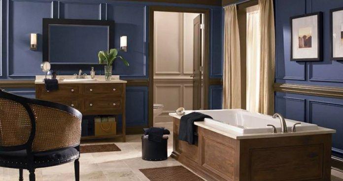Làm thế nào để biến phòng tắm trông sang trọng hơn? bien phong tam tro nen sang trong 6