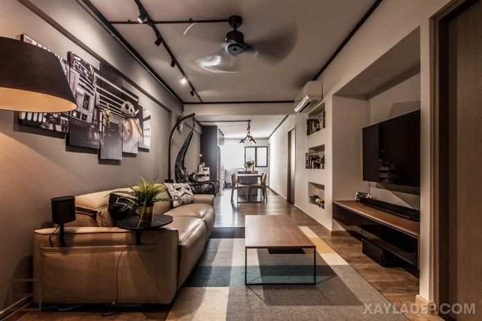 Cách chọn bàn trà sofa phù hợp với phòng khách của bạn cach chon ban tra sofa phong khach 1