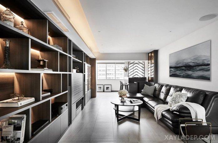 Cách chọn bàn trà sofa phù hợp với phòng khách của bạn cach chon ban tra sofa phong khach 2